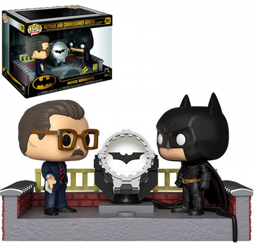 Funko Pop Batman y Gordon