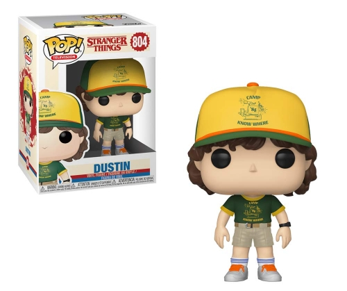 Funko Pop Stranger Things: Dustin