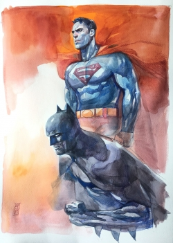 Batman y Superman de Alex Maleev
