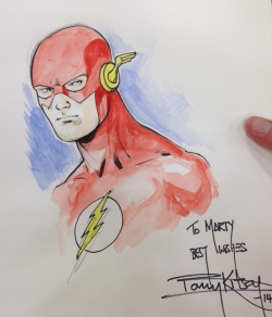 Flash de Barry Kitson