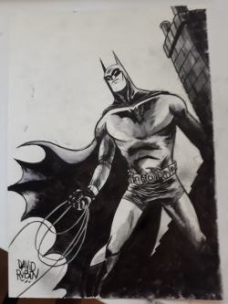 Batman de David Rubín