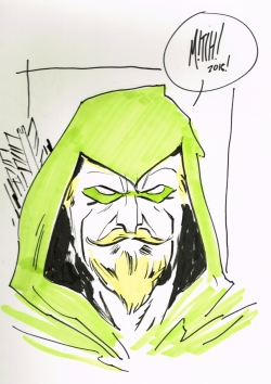 Green Arrow de Mitch Gerads