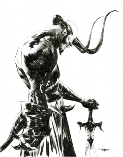 Hellboy de Jae Lee