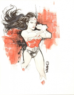 Wonder Woman de Dustin Nguyen