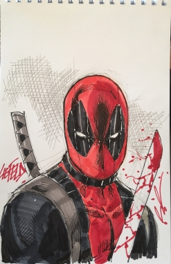 Deadpool de Rob Liefeld