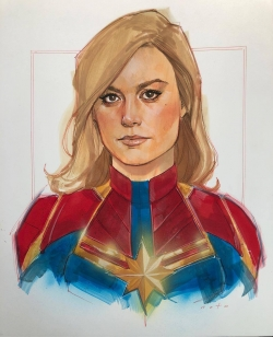 Capitana Marvel de Phil Noto