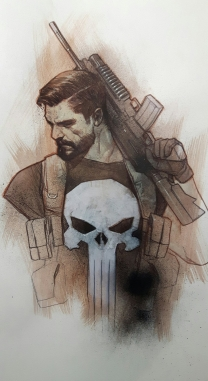 Punisher de Ben Oliver