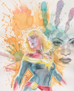 Capitana Marvel de David Mack
