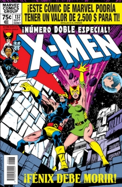 Marvel facsímil v1 #2. The X-Men 137