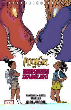 Moon Girl y Dinosaurio Diabólico #4. Girl-Moon