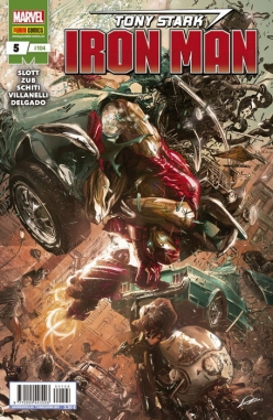 Tony Stark: Iron Man #5