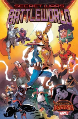 Secret Wars: Mundo de Batalla #1