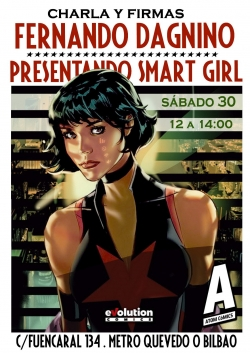 Fernando Dagnino presenta Smart Girl en Madrid