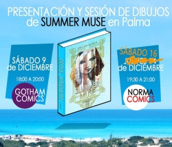 Guillem March presenta Summer Muse en Palma de Mallorca
